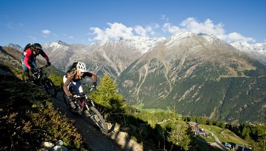 Mountainbiking Sölden
